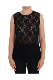 Ricamo Lace Transparent Blouse