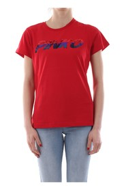 PINKO DEMETRIO T SHIRT AND TANK Women Rosso