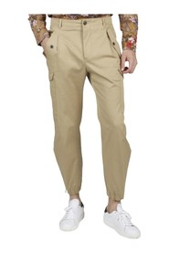 TROUSERS WITH SIDE POCKETS ZIP ON THE BOTTOM