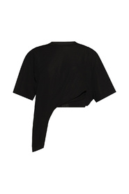 T-shirt with zip detail