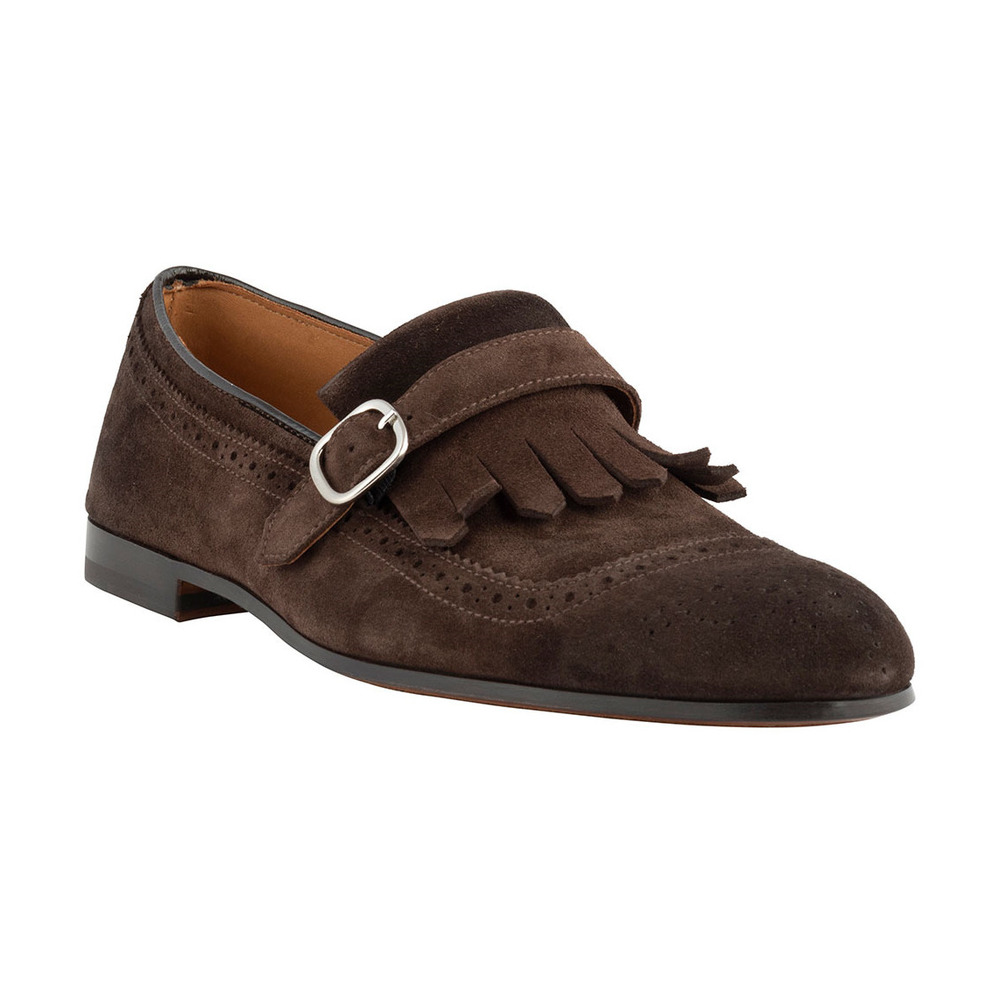 Brown LOAFER KILTY MONK | Doucals | Loafers | Men's shoes