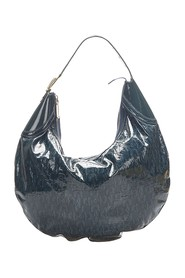 Horsebit Glam Patent Leather Hobo Bag