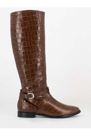 Coconut boots with strap