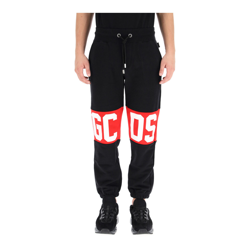jogger pants with logo Gcds
