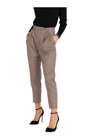 Cigarette trousers with belt