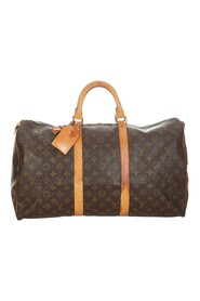 Pre-owned Monogram Keepall 50 Canvas
