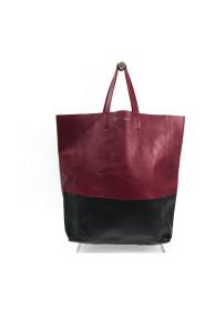 Brukte Cabas Horizontal Leather Handbag