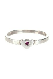 Heart Ring in sterling