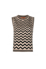 ZIGZAG SLEEVELESS TOP