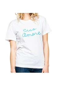 T-SHIRT CIAO AMORE CRYSTAL