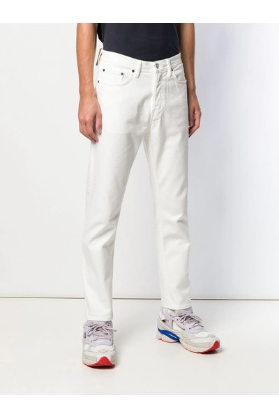 White RIVER 5-POCKET DENIM Acne Studios Jeans Skinny