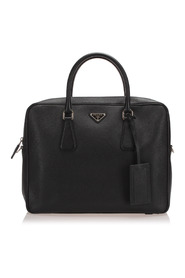 Pre-owned Saffiano Business Bag Leather Calf