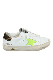 White leather GOLDEN GOOSE sneakers