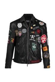 Full Patch Biker Jacket