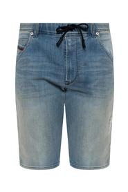 'D-Krooshort-t' denim shorts with rips