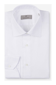 Shirt with button fastening