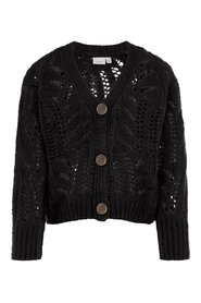 Knitted Cardigan perforated