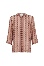 Second Female bluse - Desire Shirt Blouse, Burlwood