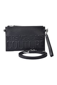 CLUTCH WITH EMBOSSED LOGO