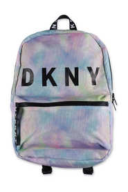 multicolor print backpack