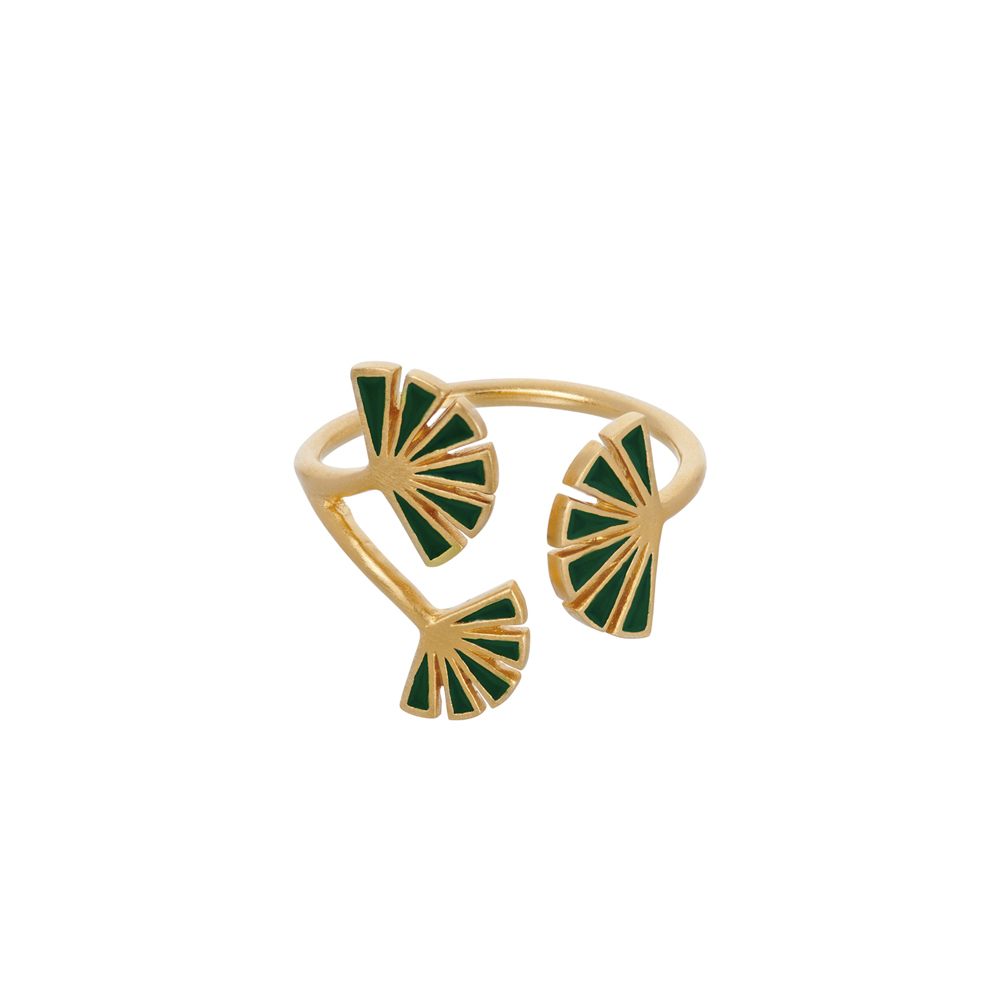 Ring, Flare Green