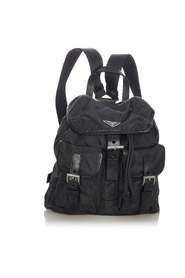 Pre-owned Tessuto Drawstring Backpack