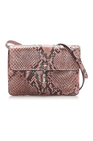 Pre-owned Python Jackie Convertible Crossbody Bag