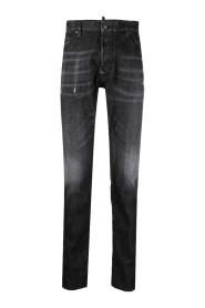 Simple Wash Baller Jeans