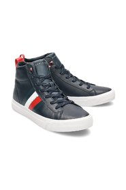 Flag Detail Leather High - Sneakers - FM0FM02371 403 41