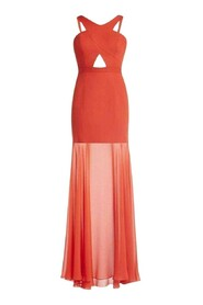 Ria Front Gown