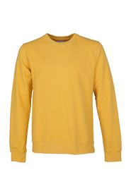 Gul Colorful Standard X Modo Crew Sweatshirt Strikk
