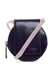 Pouch on strap with logo