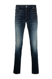 EMBROIDERED SKINNY JEANS-RAW VINTAGE