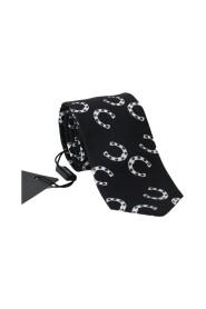 Horseshoe Print Classic Tie