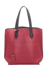 All Shopper Leather Tote Bag