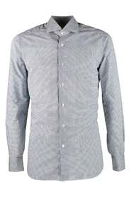 Houndstooth patterned shirt
