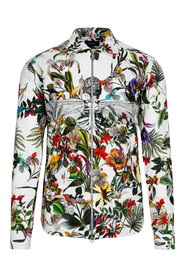 Floral Zipper Shirt