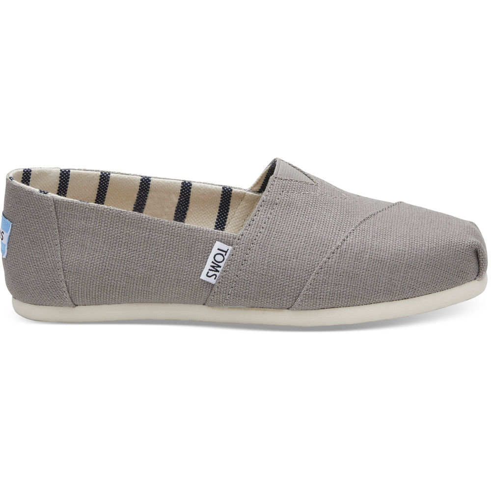 Morning Dove Heritage Canvas Toms Alpargata