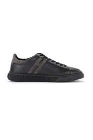 H365 sneaker in leather and suede