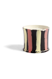 Stripe Scented Candle Flower Beauty