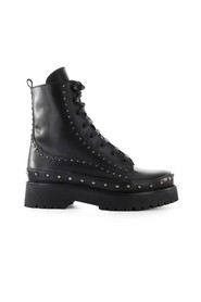 CINGOLI LEATHER COMBAT BOOT