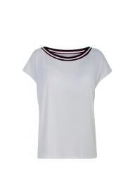 T-shirt med eller uden dig hvid
