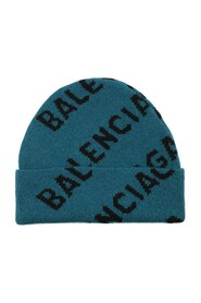Beanie With All-over Logo