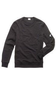 Crew Neck Diagonal Fleece