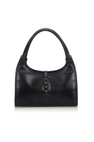 Leather Jackie Handbag