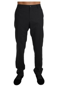 Wool Stretch Formal Trousers Pants