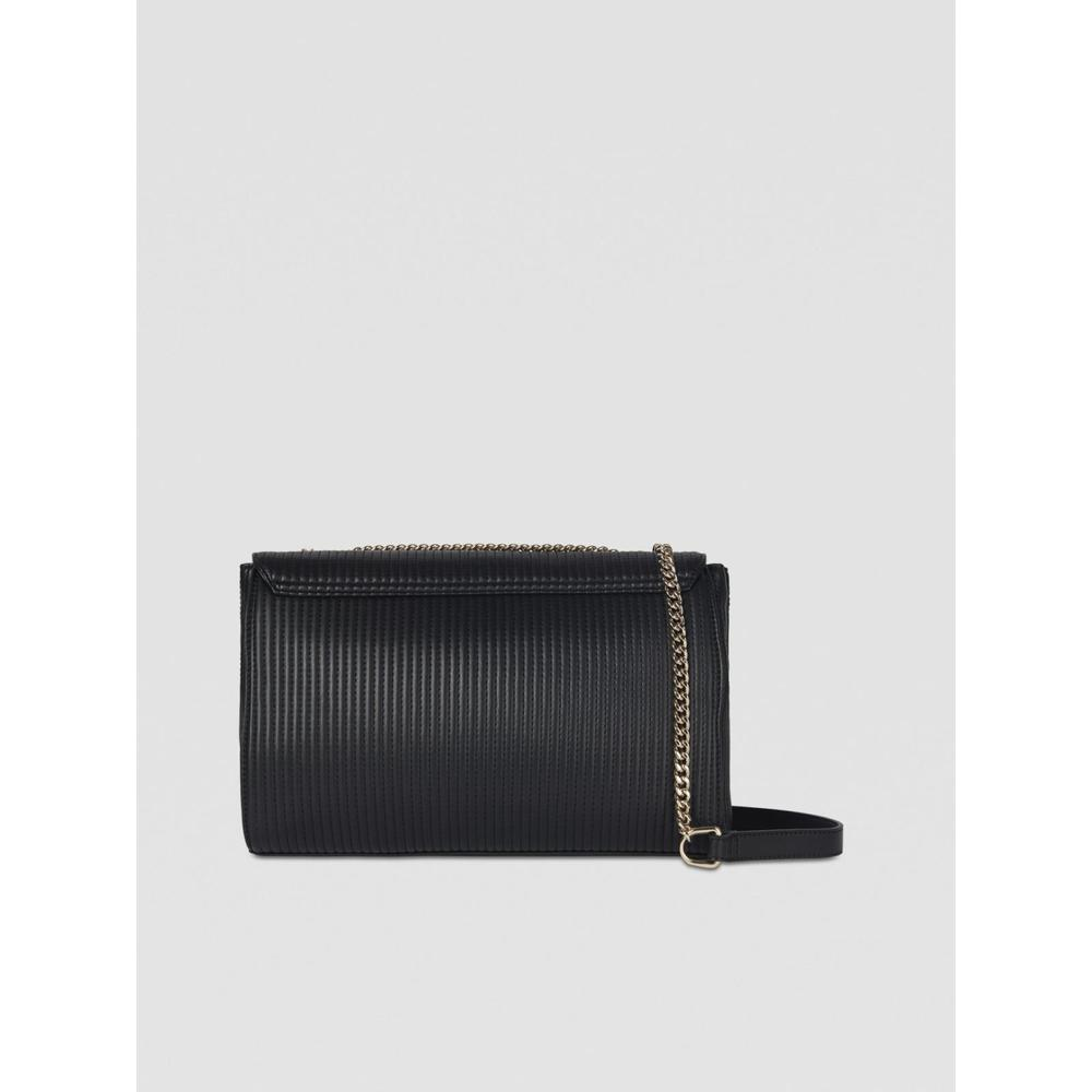 Black FRIDA SHOULDER BAG LARGE IN QUILTED LEATHER | Trussardi Jeans | Torby na ramię - Najnowsza zniżka cwCnH
