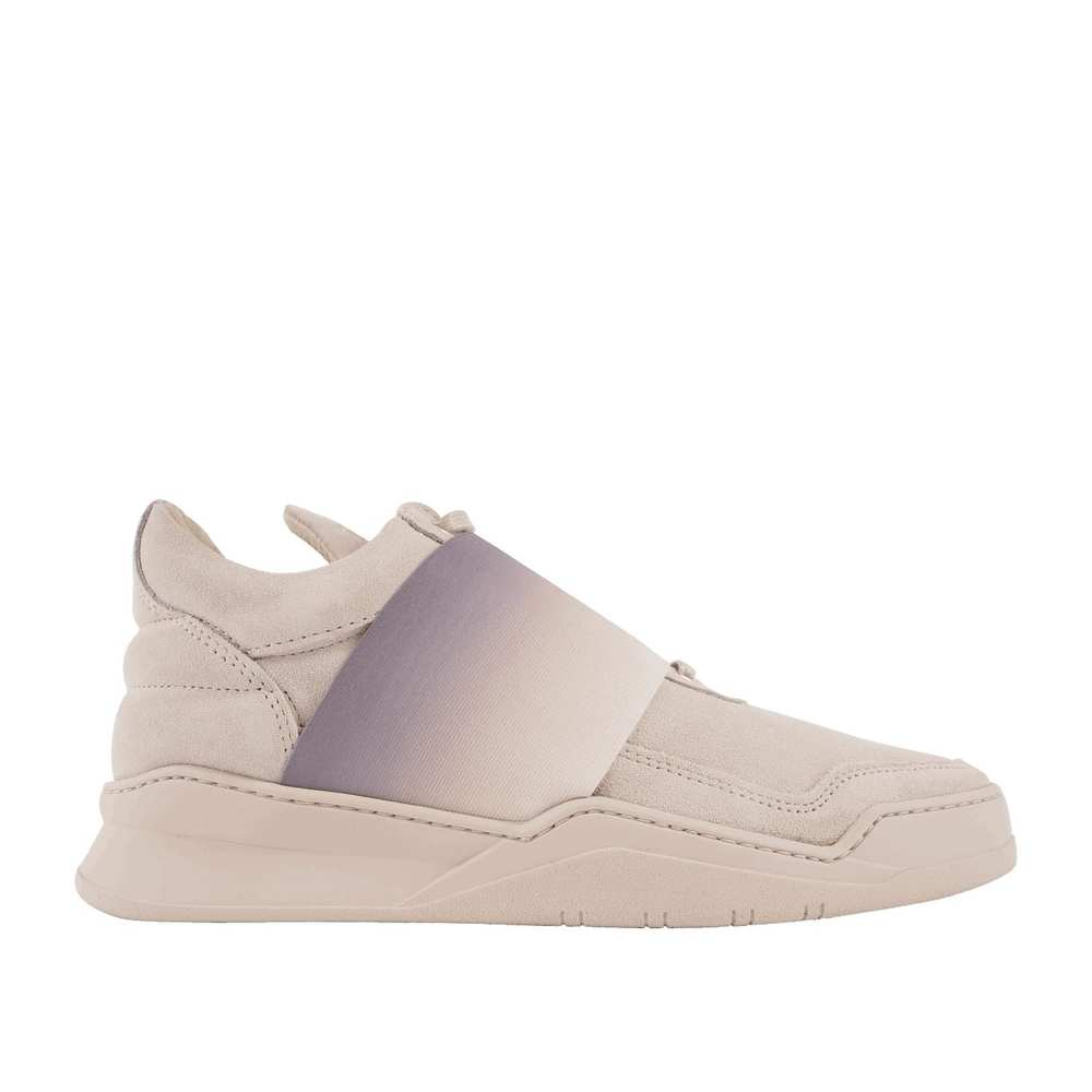 Low-top elastische strap-fade trainer