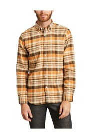 80's Playground flannel checked shirt