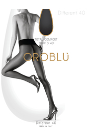 Mørk blå OROBLU Different 40 Comfort Tights